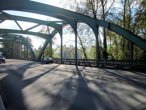 99E bridge. Isn't it pretty?