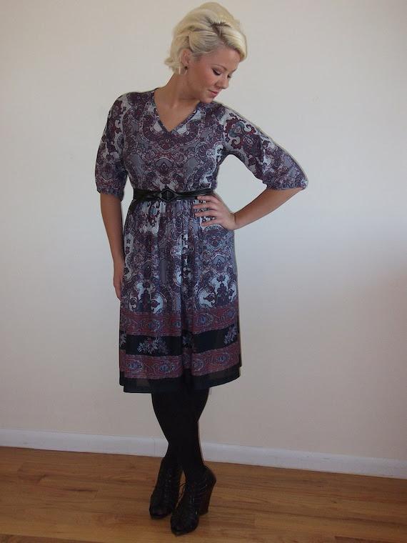 Gypsy Scarf Dress