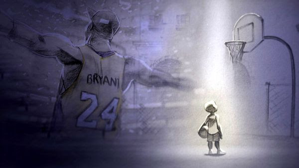 Kobe Bryant's film DEAR BASKETBALL received an Academy Award nomination for Best Animated Short...on January 23, 2018.