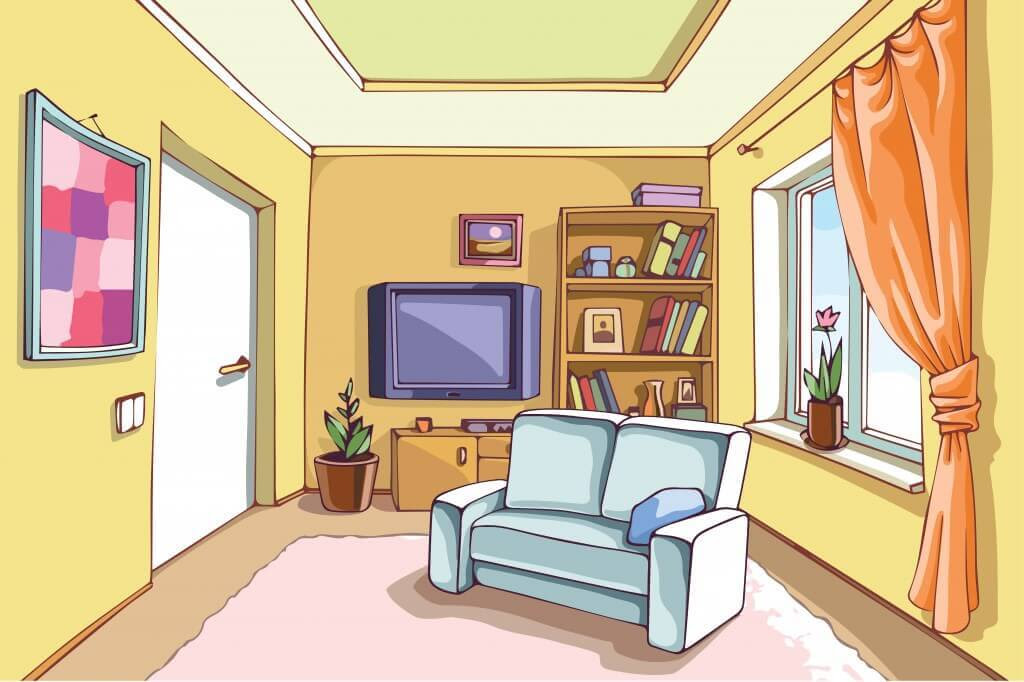 room clipart 9