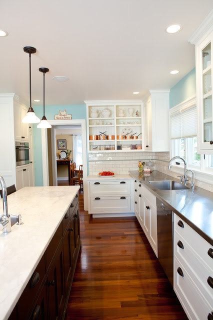 Kitchen 1 West Seattle Tudor Farmhouse Kitchen