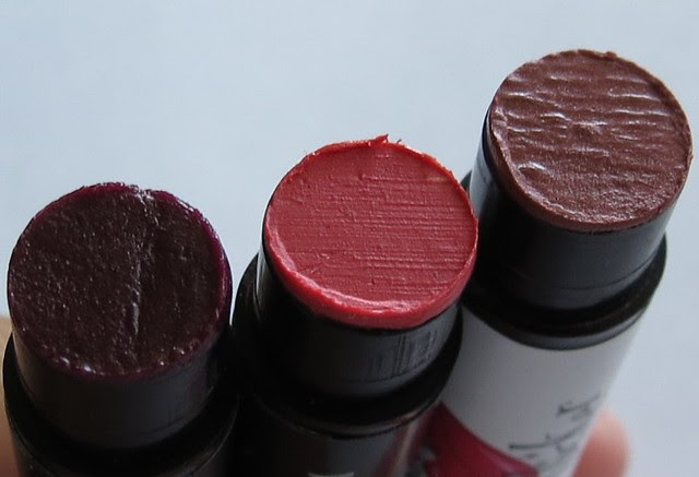 Silk Naturals Provoke, Joy, and Maiden Lip Products