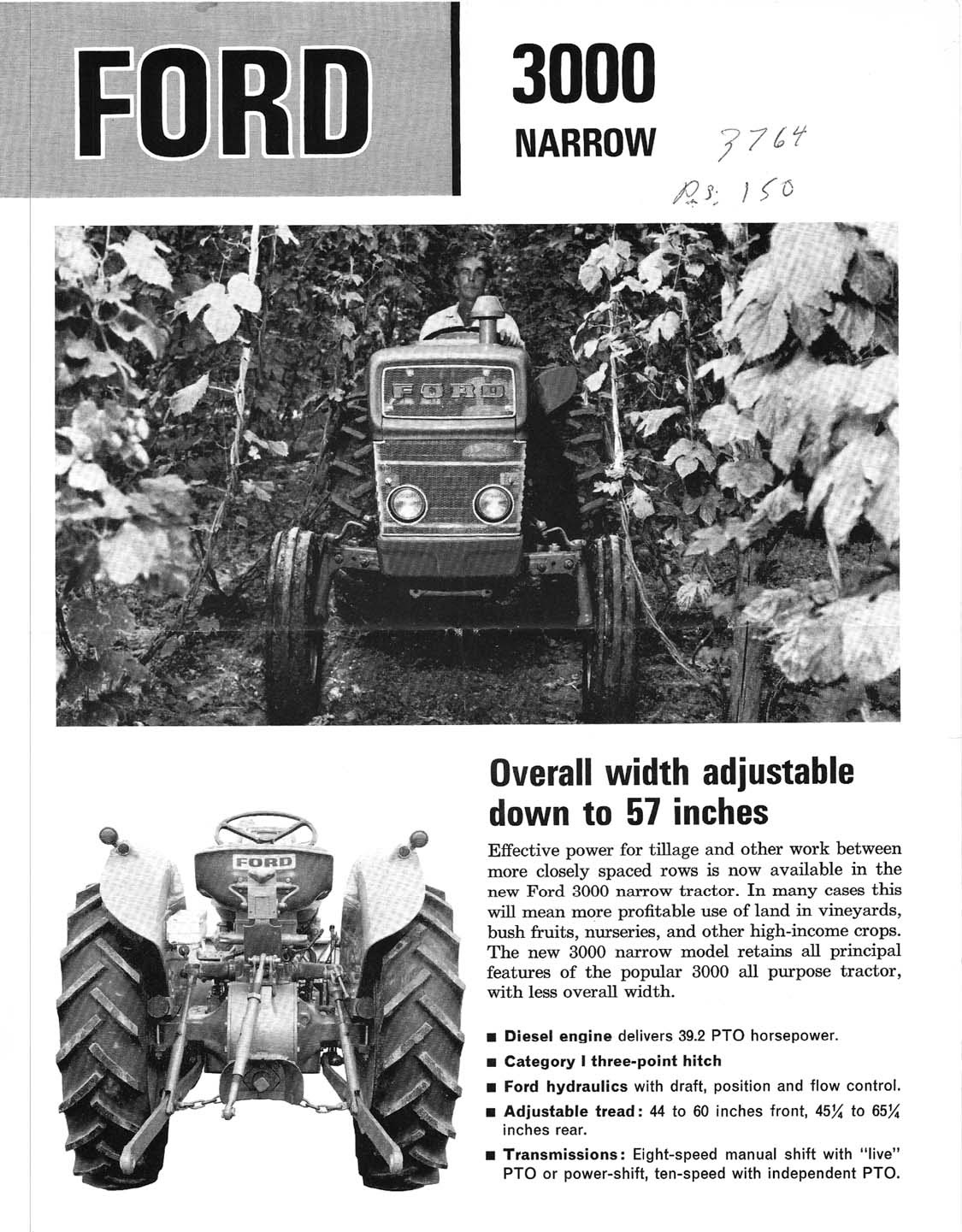 Ford 3000 Tractor Manual