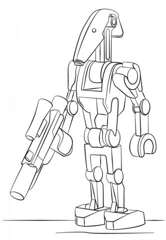 Dibujo De Lucha De Androides De Lego Para Colorear Dibujos Para