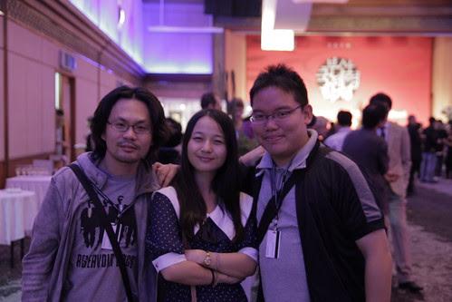 Me, Kah Wai and Kkobbi