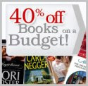 40% Off Books on Budget!