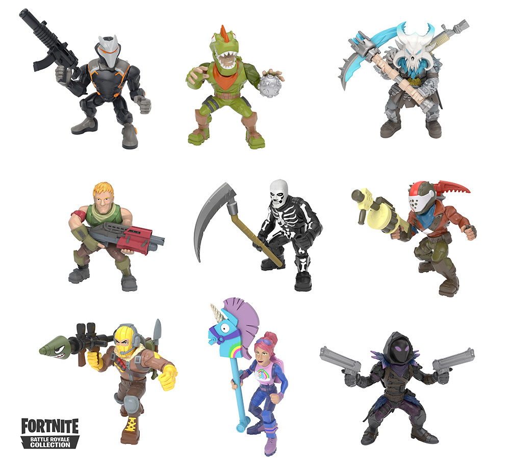Fortnite Battle Royale Collection mini figures coming this ...