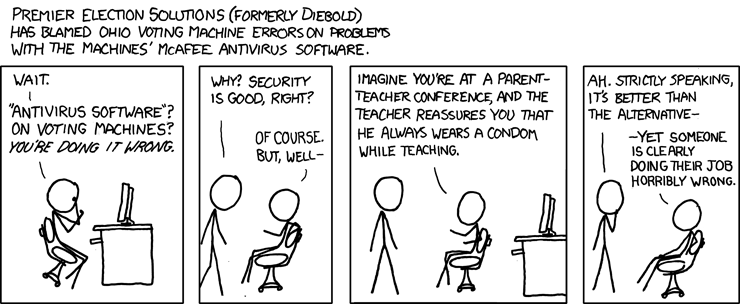 Pho's Akron Pages: xkcd Takes On Diebold