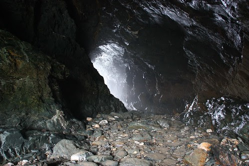 Merlin's Cave at Tintagel