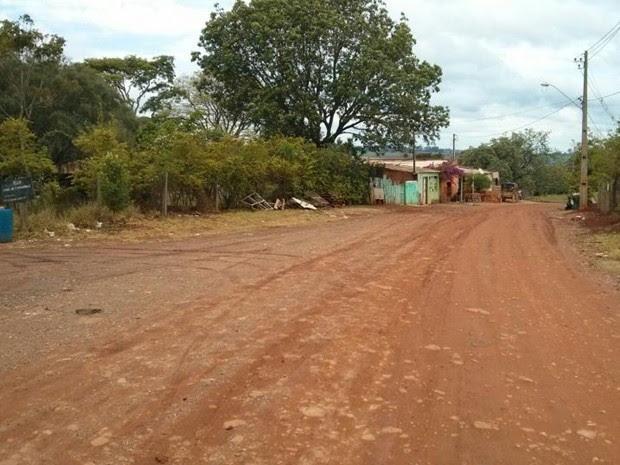 Bairro onde mãe e filha moravam com o idoso de 71 anos (Foto: Cláudio Nascimento/ TV TEM)