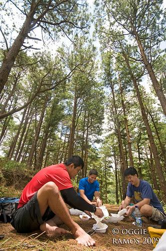 Nueva Vizcaya Salacsac Dining under the Pines