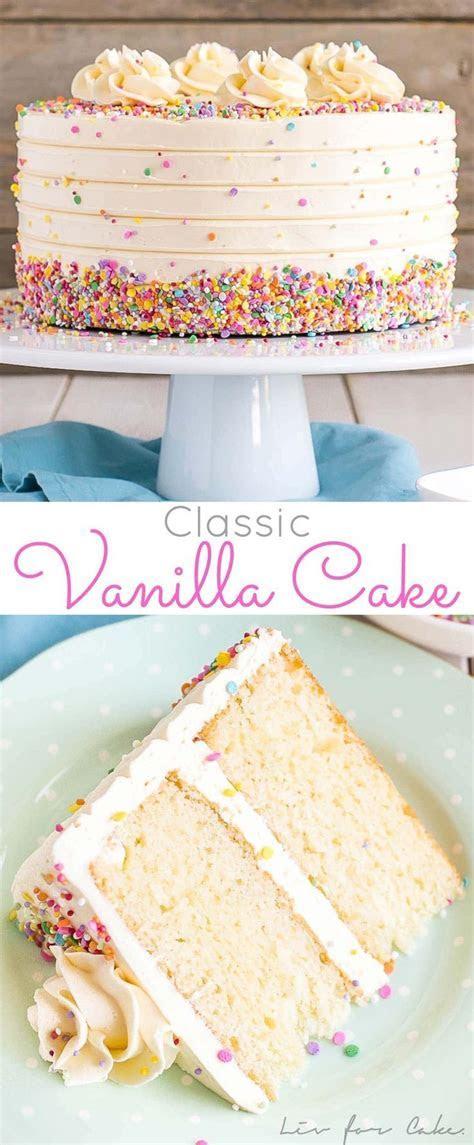 Best 25  Vanilla cake ideas on Pinterest   Moist vanilla