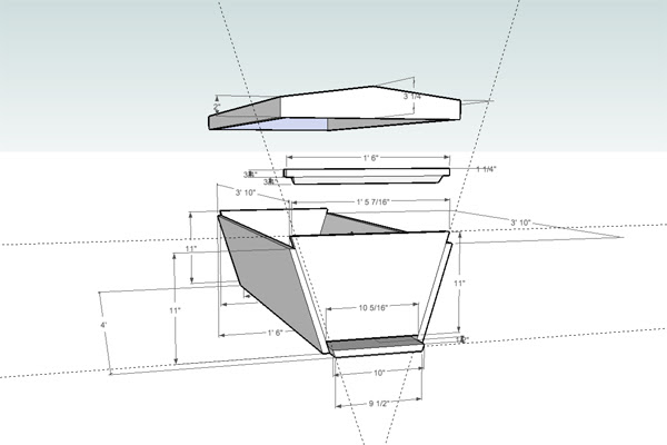 Top Bar Beehive Plans Les Crowder