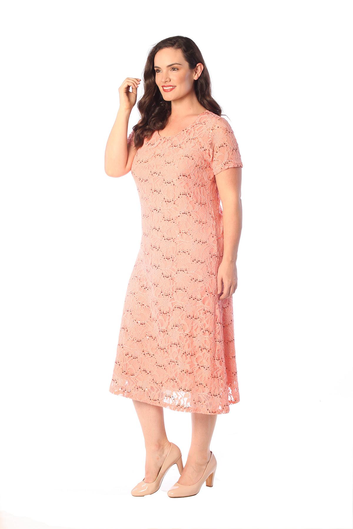 womens plus size dress ladies flapper sequin lace floral