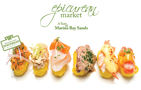 Marina Bay Sands Epicurean Market Giveaway