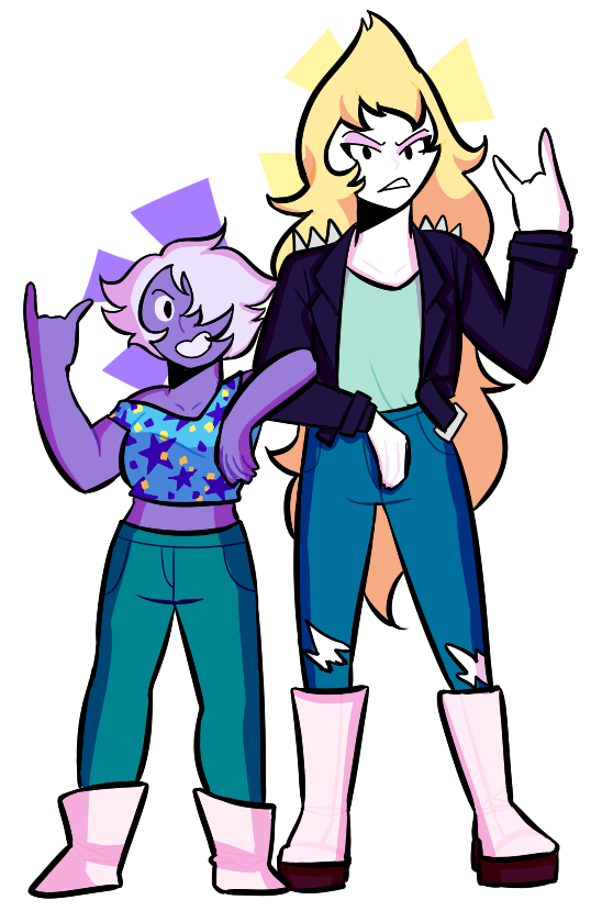 """ rpgfairy said: I would be so behind some su stuff "" look at these cool kids"