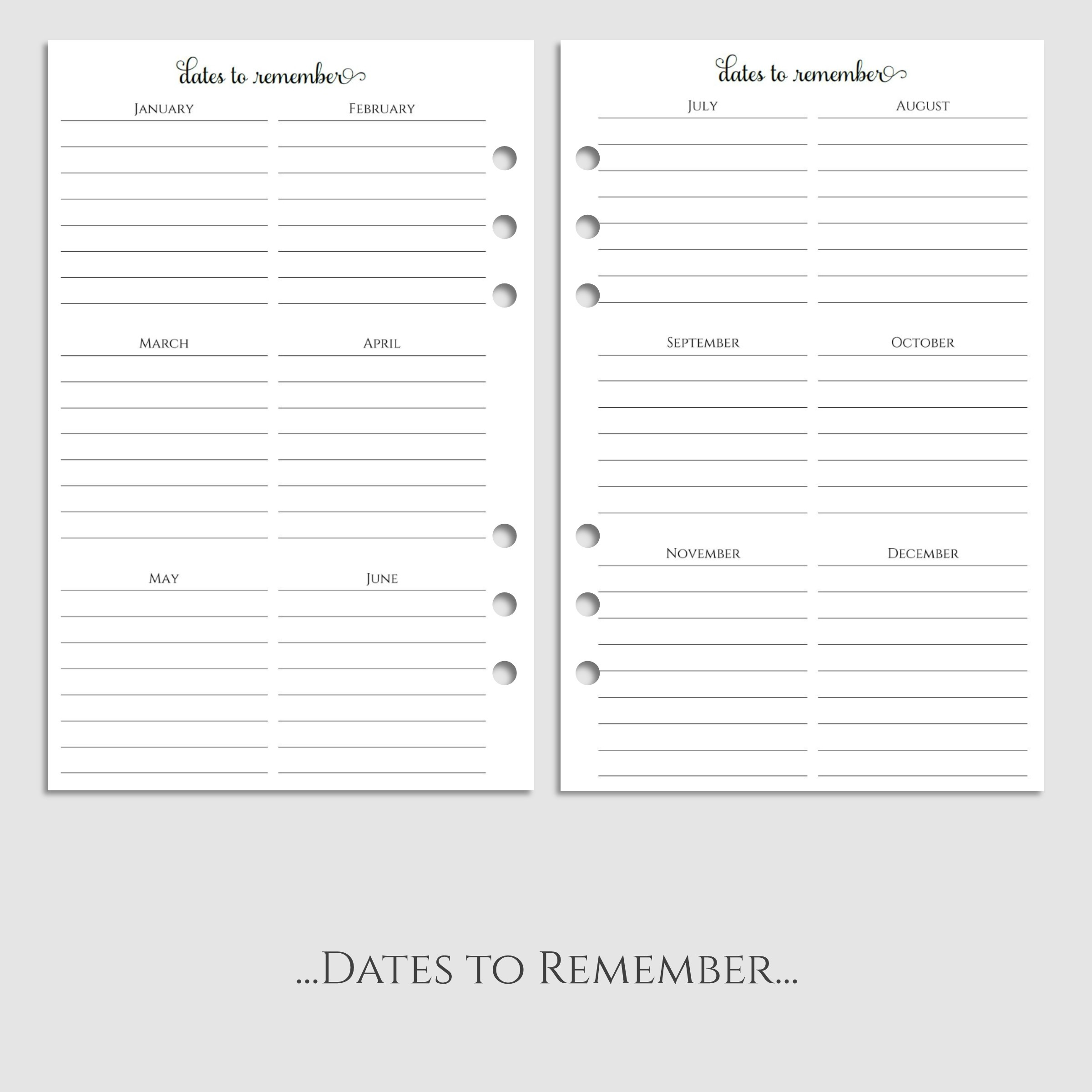 2017 Daily Planner Inserts with Daily Gratitude & Accomplishments ...