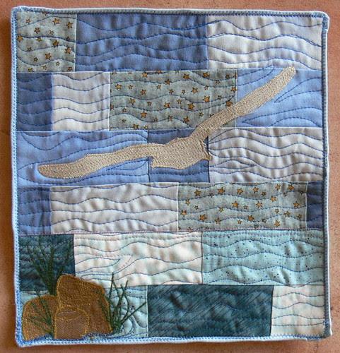 Journal Quilt 08: Möwe Jonathan