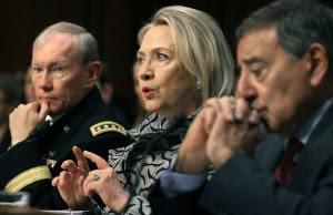 Hillary, Panetta a desta e Dempsey mentono durante l'audizione al senato nel 2013