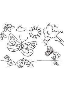 【Meilleure collection】 Papillon Coloriage à Imprimer