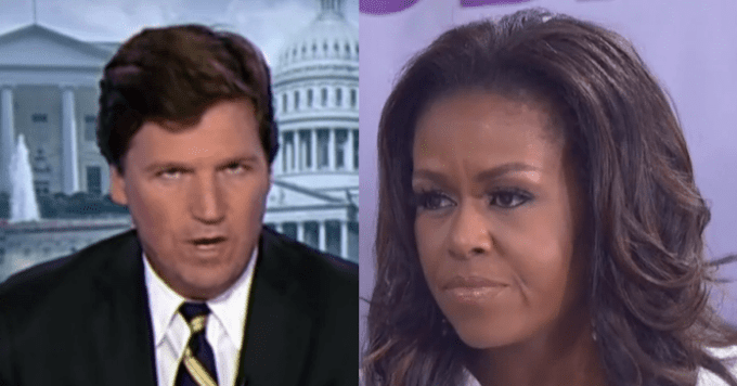 Tucker Carlson Warns USA Michelle Obama's New Plan 'Could Destroy American Democracy'