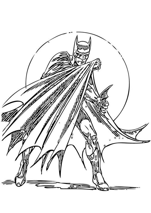 Coloriage Batman Coloriages Coloriage à Imprimer Gratuit Fr