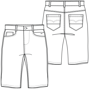 Shorts Men Fashion Sewing Patterns For Professionals