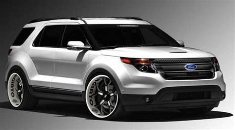 ford explorer redesign ford redesignscom