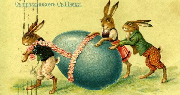 Risultati immagini per ostara egg bunny