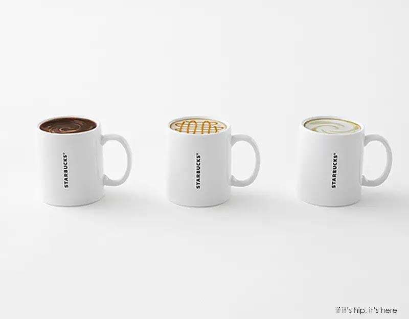 starbucks mugs nendo 6 IIHIH