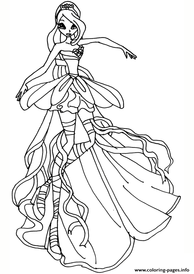 The Best Free Winx Coloring Page Images Download From 50 Free