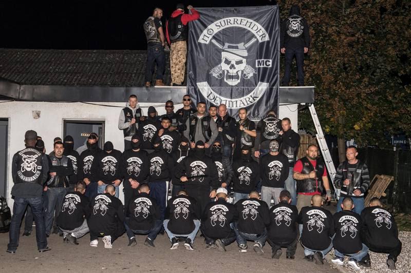 No Surrender har støtteklubben, der kalder sig No Retreat. Foto: Kenneth Meyer