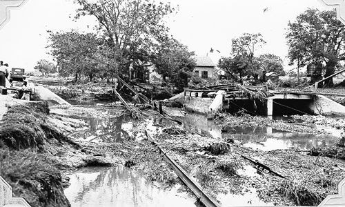 D'Hanis Texas after 1935 flood