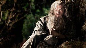 Sir Ian McKellen in The Hobbit