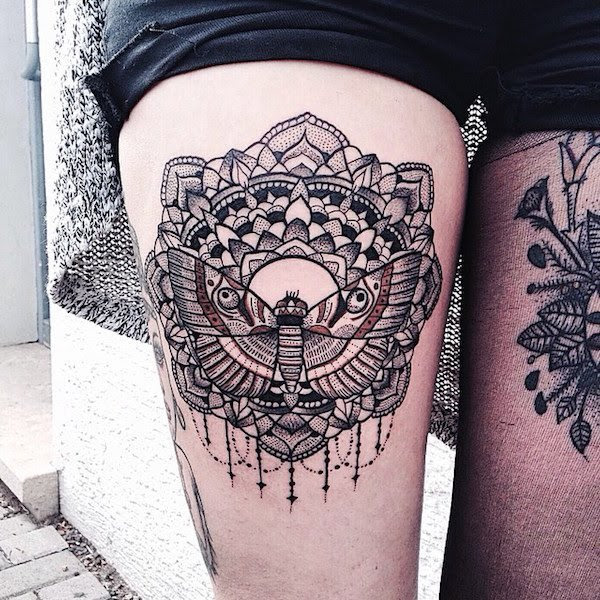 150+ Sexy Thigh Tattoos for Women (Mind Blowing PICTURES)