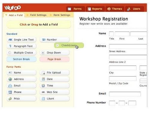 Online Application Builder Online Application