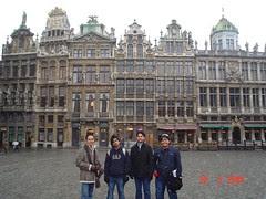 Kat Grand Place, Brussels, Belgium