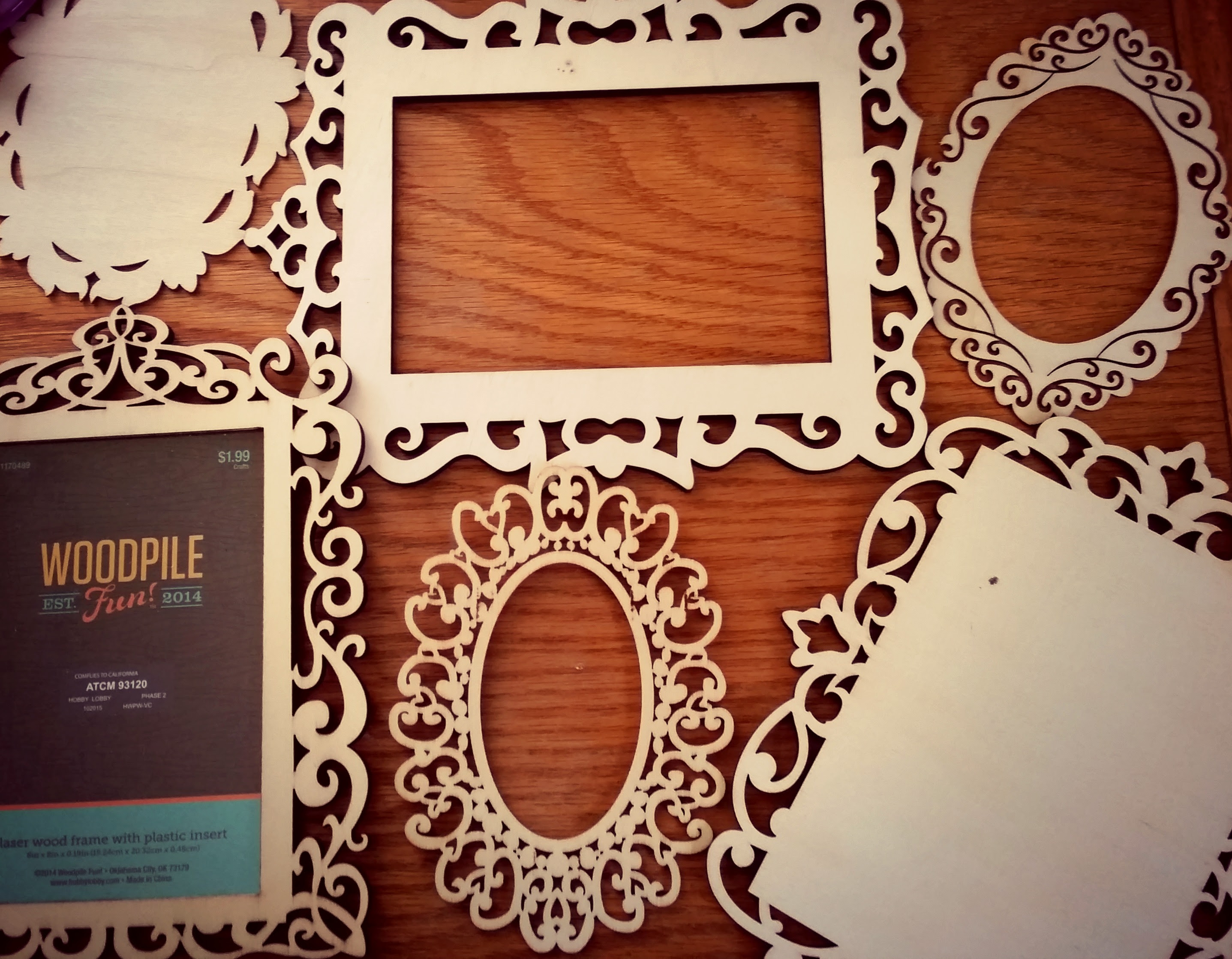 Laser Cut Wood Frames And Plaques Art Supply Guide