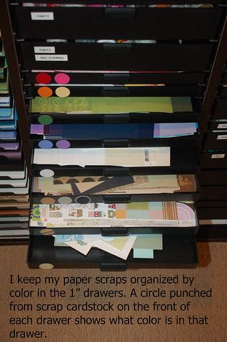 Dwr 8-15: Paper scraps