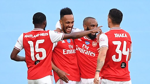 Avatar of A double for Aubameyang as Arsenal stuns Manchester City in FA Cup semifinal