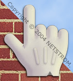 Pointing glove design