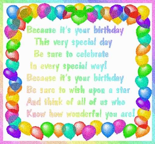 Brilliant Birthday Quotes For Kids Nicewishes