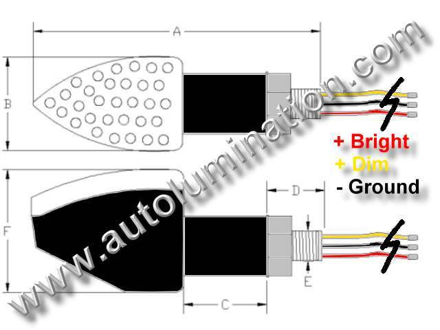 Motorcycle Led Light Wiring Diagram
