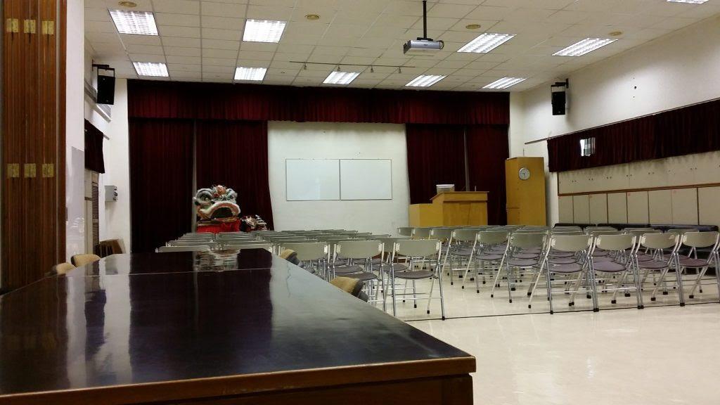 オリエンテーションの部屋