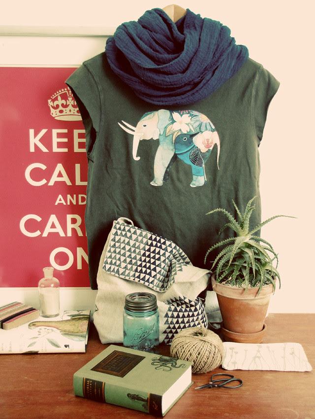 Iron-on Elephant