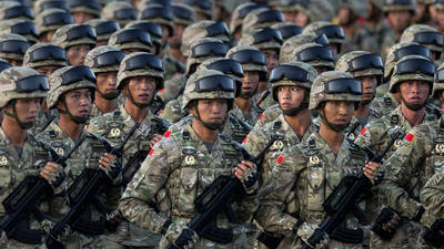 China's military: How strong is the People's Liberation Army?