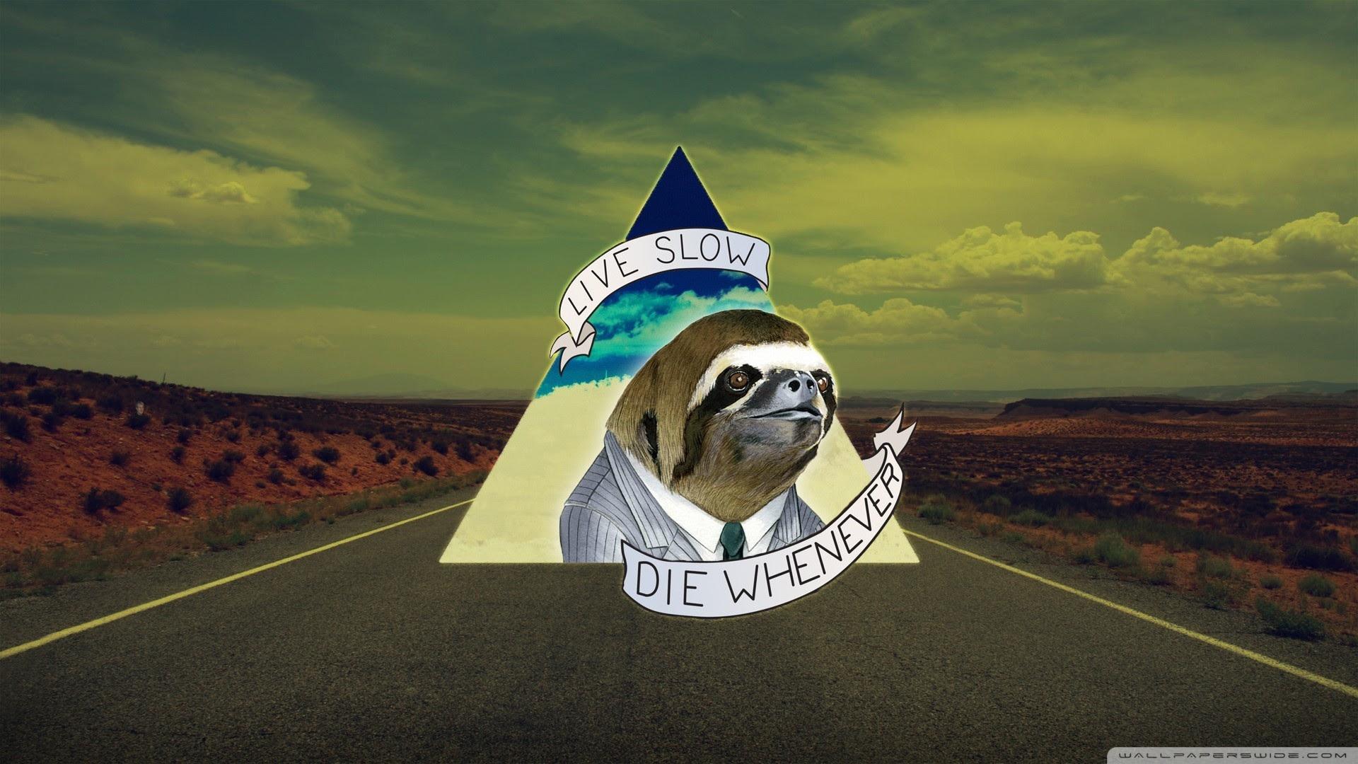 Live Slow Die Whenever Ultra Hd Desktop Background Wallpaper For