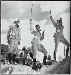 The 3 sergeants in battle