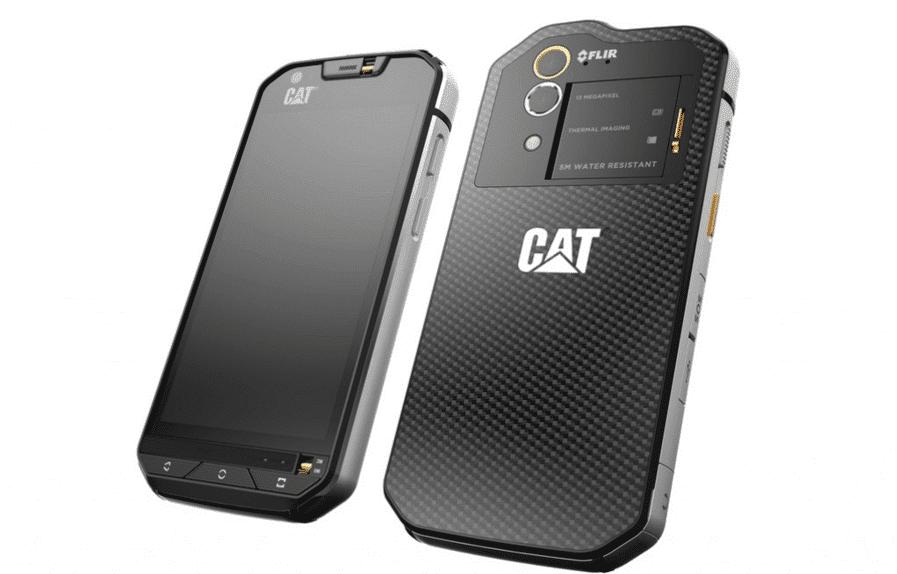 Cat S60 .. أول هاتف ذكي في العالم مع كاميرا حرارية