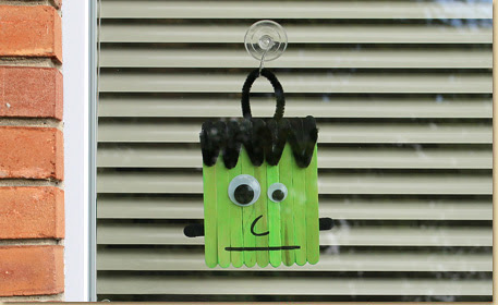 Frankenstein Window Hanger